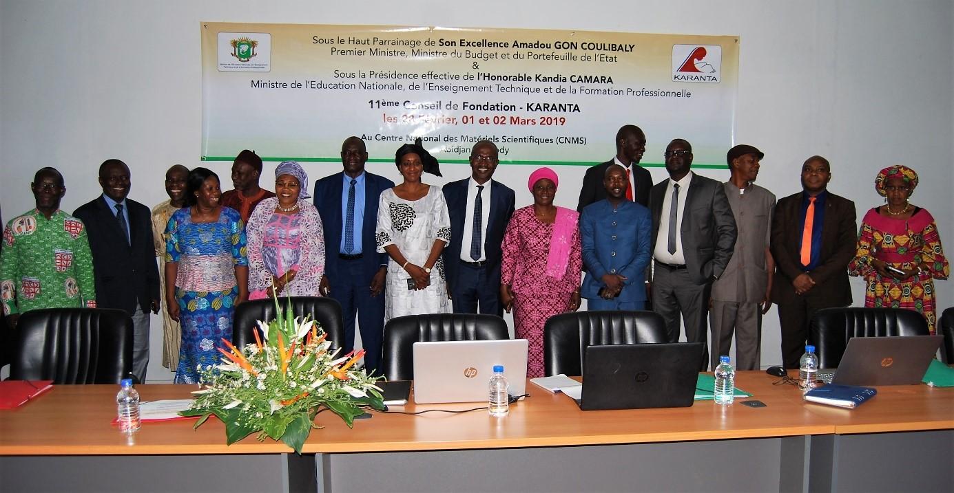 Rencontre des Experts de la Fondation Karanta